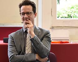 Clément Bosqué, directeur du site de Montrouge