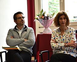 Julien Leloup, chargé de projets & Catherine Roulhac, reponsable des partenariats universitaires