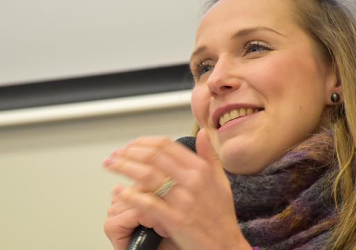 Alexandra Demidenko, directrice de la Cité départementale de l'enfance et de l'adolescence