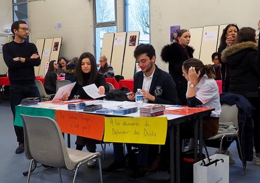 Les jeunes ambassadeurs IRTS Portes ouvertes 2019