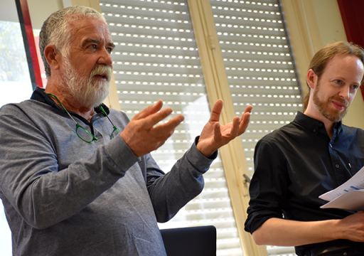 Eric Kérimel de Kerveno & Alexis Mombelet, sociologue, formateur IRTS 2019